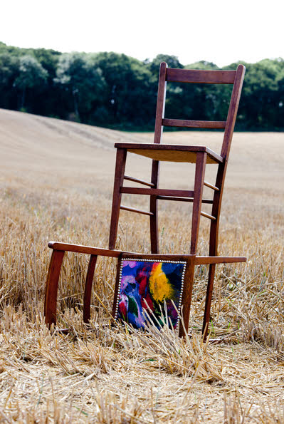 Recycled Welly Chairs