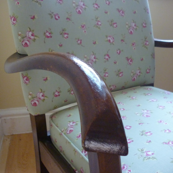 Vintage Rose Armchair
